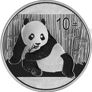 Chinese Silver Pandas