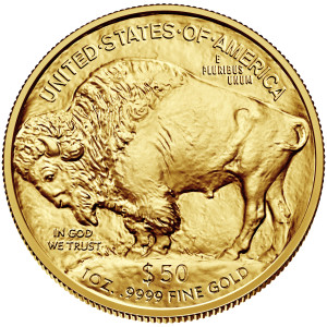 Gold American Buffalos