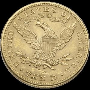 $10 Liberty Gold Eagles (1838-1907)
