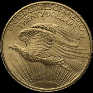 $20 Saint Gaudens Gold Double Eagles (1907-1933)