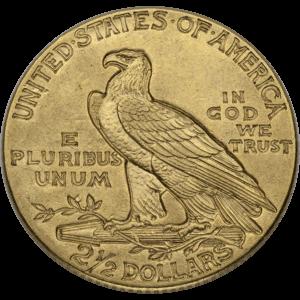$2.50 Indian Gold Quarter Eagles (1908-1929)