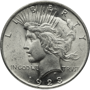 Peace Silver Dollars (1921-1935)